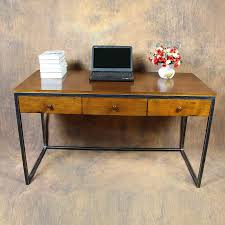 european creative office notebook computer desk with cabinets retro iron real home computer desk can be besi office computer desk