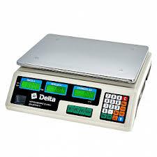<b>Весы</b> электронные торговые настольные <b>Delta</b> до 40 кг <b>ТВН</b>-<b>40</b>