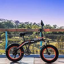 "<b>RICH BIT</b> 20"" Fat Tire <b>Electric</b> Bicycles, RLH-016, 500W Folding ..."