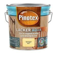<b>лак д/стен и мебели</b> PINOTEX Lacker Aqua 2,7л матовый, арт ...