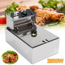 6L 2.5KW Heavy Duty Stainless Steel <b>Electric Deep Fryer</b> ...
