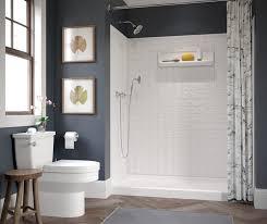 Shower <b>Walls</b> - Smooth <b>Wall</b>, Subway and <b>Square</b> Tile Bath <b>Wall</b> Kits
