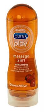<b>Гель</b>-смазка <b>лубрикант Durex play massage</b> 2 в 1 Stimulating 200мл