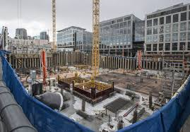 amazon devouring quarter of seattles best office space the seattle times amazon office space