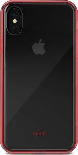 <b>Клип</b>-<b>кейс Moshi Vitros</b> для iPhone X/XS - Crimson Red ...