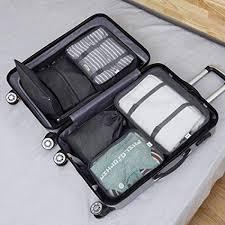 Packing Cubes, Travel 7 Set Luggage <b>Organizer</b> with <b>Laundry Bag</b> ...
