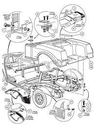 2000 2005 club car ds gas or electric club car parts & accessories 36v Golf Cart Wiring Harness rear body gas 36 volt golf cart wiring diagram