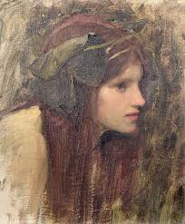 John William Waterhouse Framed Prints - A Study for a Naiad Framed Print by John William · A Study for a Naiad · John William Waterhouse - a-study-for-a-naiad-john-william-waterhouse