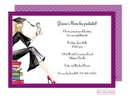 Graduation Party Invitations ~ High school or college Graduation ...