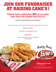 raising cane s fundraiser nevada chapter fundraiser flyer 092216
