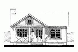 Eplans Cottage House Plan   One Bedroom Cottage   Square Feet    Front