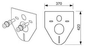 TECE Profil <b>Прокладка звукоизоляционная</b> для <b>подвесного</b> ...