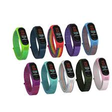 Replaceable Wristband For <b>Xiaomi Mi Band 4 3</b> Nylon Strap Wrist ...