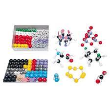 <b>Сборная модель</b> молекулы Anorganik/Organik D, molymod
