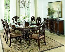 Formal Round Dining Room Sets Set W Round Dining Table Deryn Park By Homelegance El 2243 76 Le