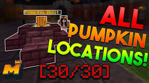 MINEPLEX <b>PUMPKIN</b> LOCATIONS GUIDE [30/30] // Mineplex ...
