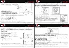 Руководство по эксплуатации <b>Оптический нивелир ADA Ruber</b>-Х32