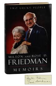 two lucky people milton friedman rose d friedman first edition two lucky people