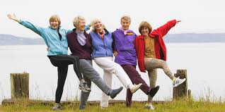 Image result for happy group in old age