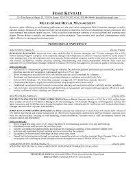 Resume Template  Objectives For Management Resume For Highly Effective Retail Or Housewares Selling With Professional     Dayjob