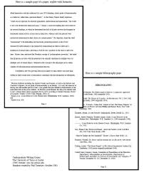 Sample CSE Paper   MLA Format Pinterest