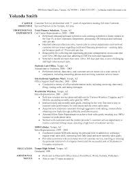 Sample Of Customer Service Resume  resume template customer     customer service resume objective customer service representative       sample of customer service resume