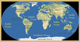 Image result for oceans of the world