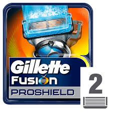 Сменные Кассеты Для Мужской <b>Бритвы Gillette Fusion ProShield</b> ...