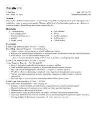 Simple Call Center Representative Resume Example | LiveCareer
