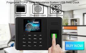 <b>Eseye</b> TCP/IP USB Fingerprint Time Attendant System Biometric ...
