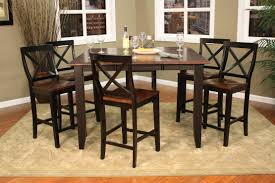 Two Toned Dining Room Sets Series Piece Counter Height Dining Set Includes Camden Stools And