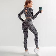 <b>Women Yoga Seamless</b> Sport Suit – 3RepsMore