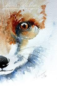 My <b>Watercolors</b> in 2019 | <b>Watercolor fox</b>, <b>Fox</b> painting, Art