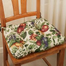Dining Room Chair Cushion Awesome How To Choose Dining Chair Cushions With Ties Also Dining