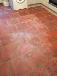 clean tile floors terracotta floor wall kitchen terracotta floor before cleaning minehead somerset