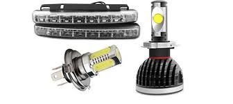 Параметры светодиодных ламп для <b>ДХО</b>, ПТФ, ближнего, дальнего