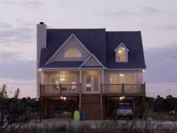 Coastal Floor Plans On Stilts   So Replica HousesCoastal Waterfront House Plans