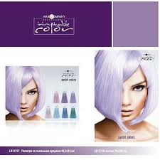 Hair Company <b>Палитра оттенков Inimitable Color</b> Pastel Color (7 ...