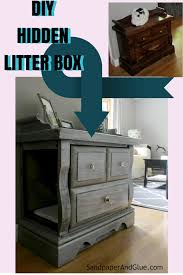diy cat box cabinet evanandkatelyncom furniture to hide litter box diy hidden litter box from sandpaperandgluecom catbox litter box enclosure