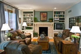 small living room fireplace family design: family room with fireplace design ideas