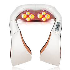 <b>Neck Massager Electric</b> Infrared Heating <b>Massage</b> Device Back ...
