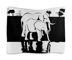 <b>Гобелен 180х145</b> Слоны на водопое #2563513 от Анна Соловьева