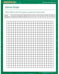 Games Graph – Free Math Worksheets for 6th Grade – Math BlasterGames Graph. Games Graph - Printable Math Worksheet ...