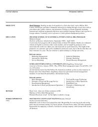 sample housekeeping resume hospital cipanewsletter hotel housekeeper resume hospital housekeeping sample resume