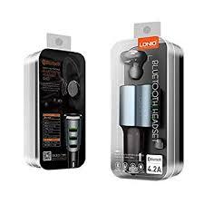 Ldnio CM21 Mono <b>Bluetooth Headset</b> Car Charger +3 <b>usb</b>: Amazon ...