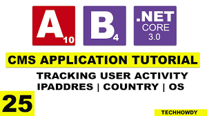 Tracking User Activity | Country | IP Address | OS - ASP.NET CORE ...