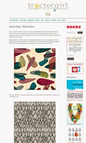 marina molares thank you so much julie gibbons for featuring my work and interview in your awesome blog tractor girl click in the image to see the whole post