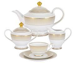 "<b>Чайный сервиз</b> ""Вирджиния"" из 23 предметов на 6 персон от ..."