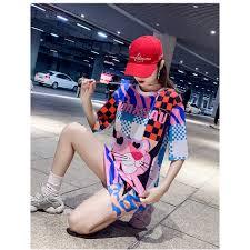 <b>2019 Summer</b> New Style T-shirt Dress Mesh Midi <b>Ice Silk</b> Dress ...