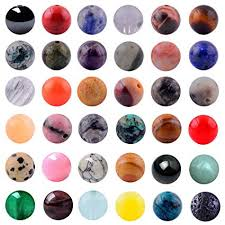 Natural Stone Beads Mixed 100pcs 8mm Round ... - Amazon.com